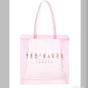 Ted Baker London Large Clear Tote NWT